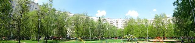 Панорама двора