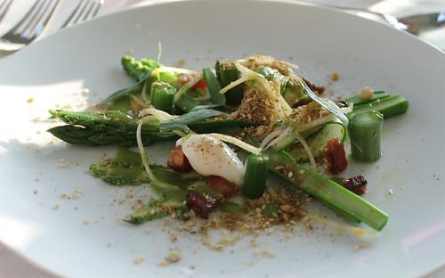 Course #1: Asparagus Salad
