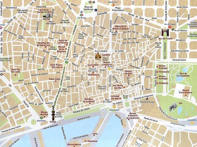 Mapa de barcelona centro my blog for Hoteles en barcelona centro para familias