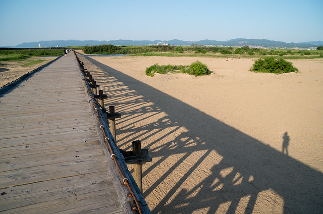 上津屋橋からの景色