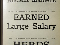 Earned Large Salary