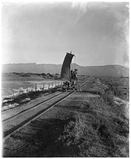 Auto a vela, Calama 1907