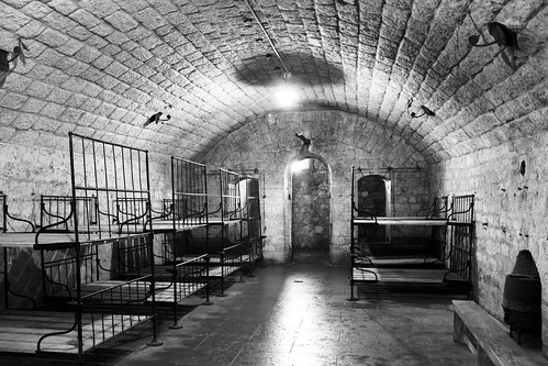 Fort Douaumont Sleeping Quarters