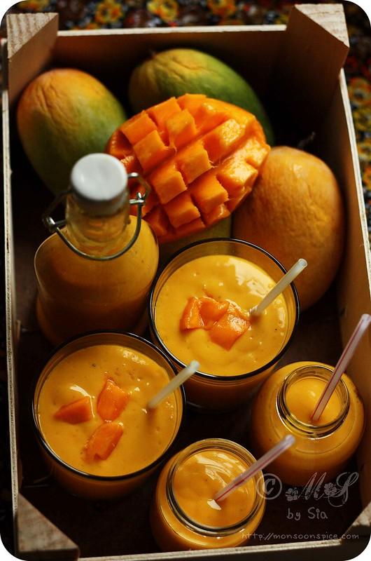 Monsoon spice unveil the magic of spices mango lassi recipe mango lassi recipe how to make punjabi mango lassi forumfinder Choice Image
