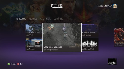 Twitch App Comes to Xbox