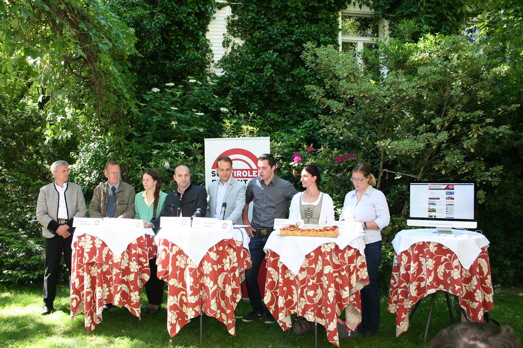 Pressekonferenz 6 Jahre SÜD-TIROLER FREIHEIT