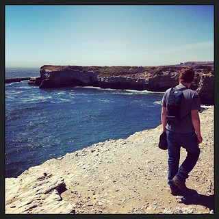 Beautiful views of the Pacific on our #SantaCruz hike