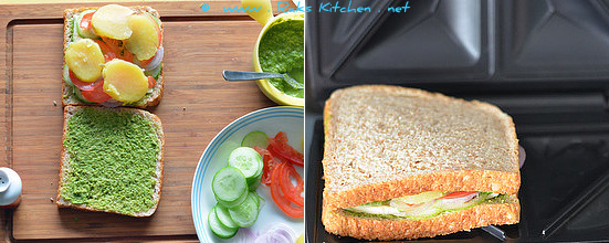 step 2-veg-grilled-sandwich