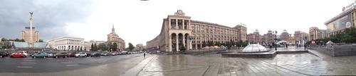 panorama Independence Square Kiev