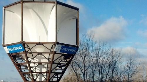 Ветрогенератор INVELOX SheerWind на 600% эффективнее обычных аналогов