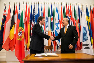 Official visit of Prime Minister of Portugal, Pedro Passos Coelho, to the OECD