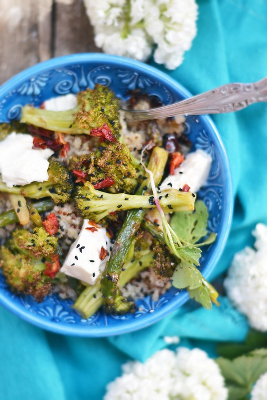 quinoa and broccoli salad