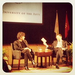 So this is happening... @neilhimself @uarts w/ @jvictor