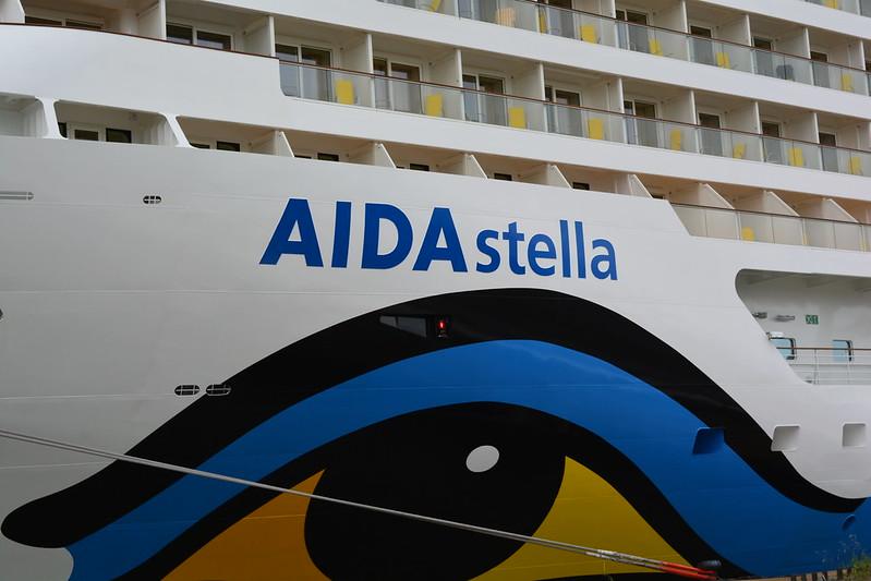 Appareillage du paquebot AIDAstella - Bordeaux - Le Verdon - 13 mai 2013