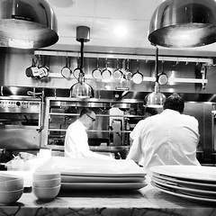Best seats in the house to watch @chefjohntesar work his magic @spoonbarkitchen
