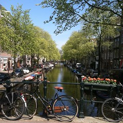 Amsterdam canal scenes