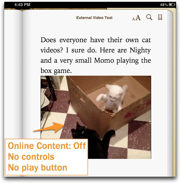 Online Content Off
