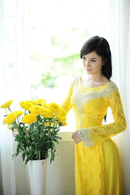 Các kiểu áo dài cưới đẹp nhất 3