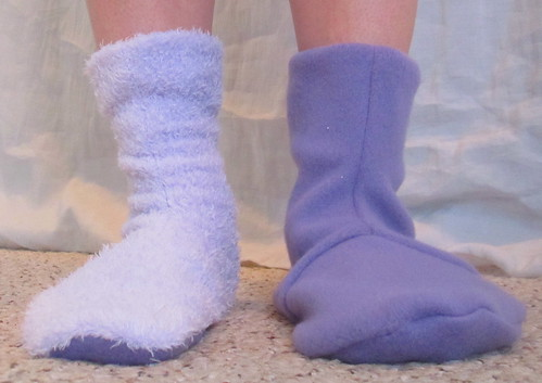 Original and Modified Socks, Front