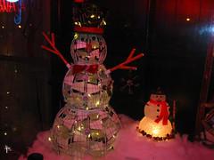 Snowmen at Luigi's_Montoni's