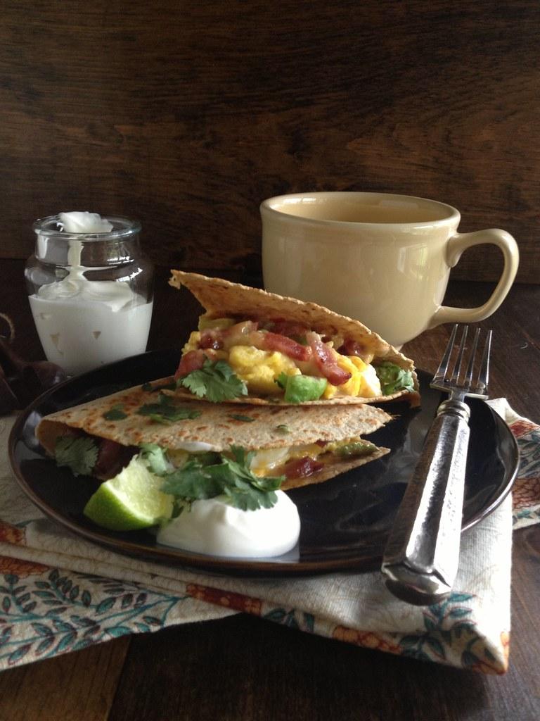 Folgers Breakfast Quesadilla