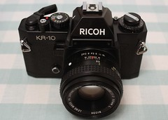 Ricoh KR-10 : PK Fit XR Rikenon F2 50mm L