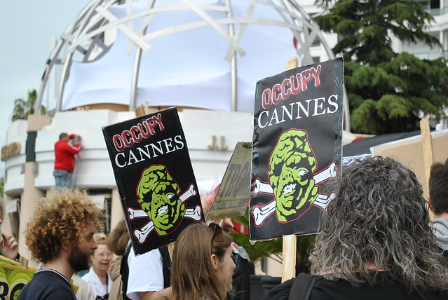 Les occupy à Cannes