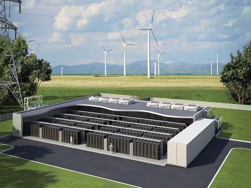 Ветряные турбины с аккумуляторами – гарант стабильного электроснабжения