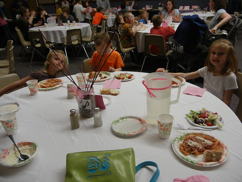 May 10 2013 YW spaghetti dinner
