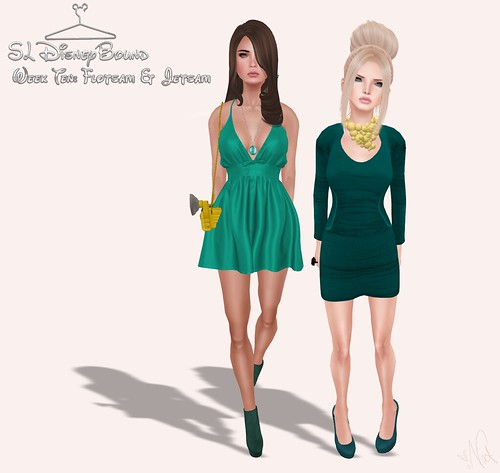 SL DISNEYBOUND - FLOTSAM & JETSAM ; ONE