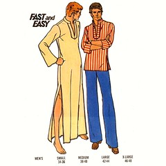 Butterick 3625 mens caftan