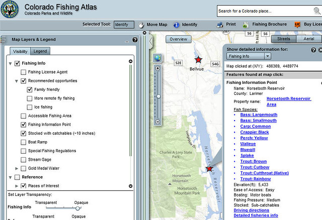 Colorado fishing atlas flickr photo sharing for Colorado fishing atlas
