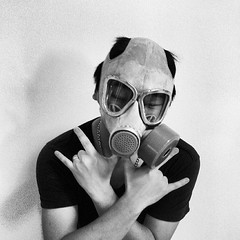 personal protective equipment, clothing, white, monochrome photography, gas mask, costume, monochrome, mask, black-and-white, black,
