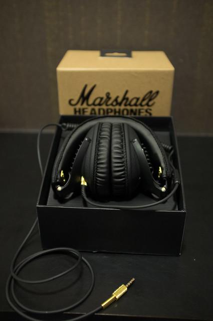 MARSHALL首支監聽耳機