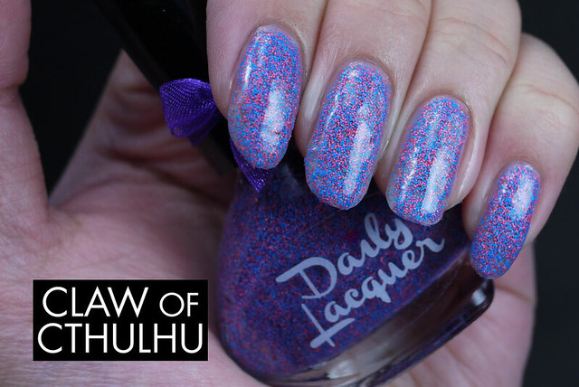 Daily Lacquer Fluffy Cotton Candy Swatch