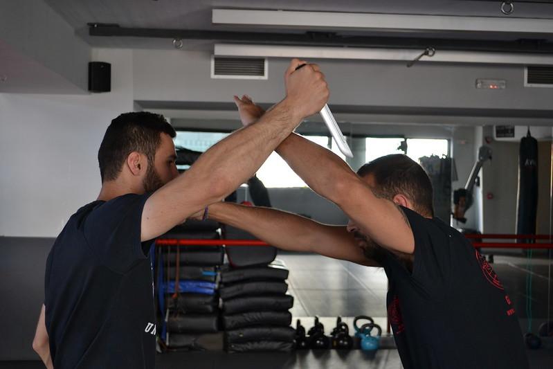 Krav Maga with Apostolos Iliopoulos sto Fight Club Central Gym