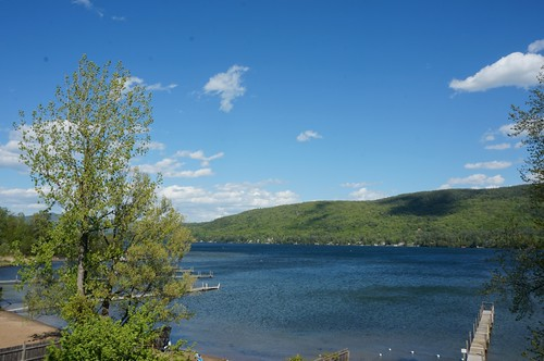 View of Lake George from the Sundowner Motel