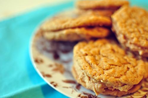 Oatmeal Peanut Butter Sandwich Cookies 2
