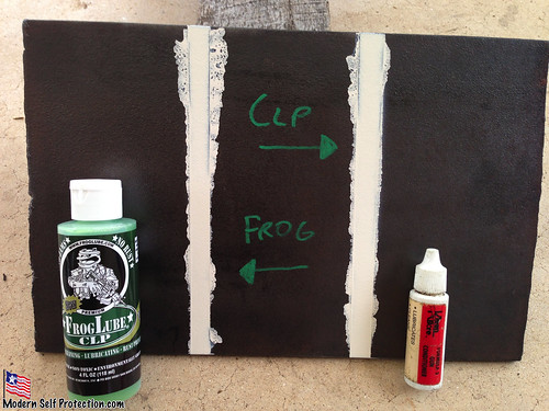 Frog Lube, CLP, Lube Test