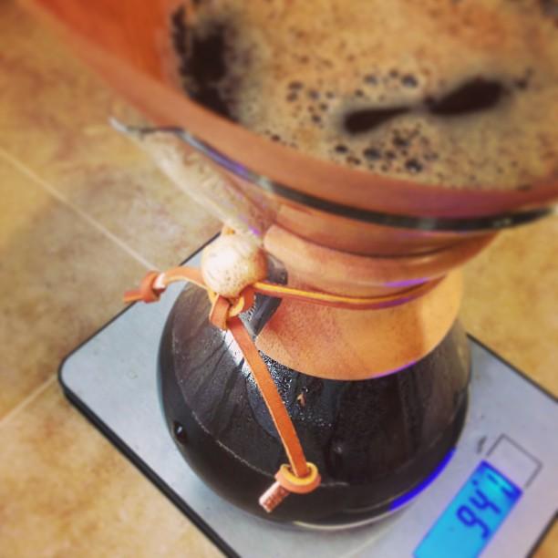 Mmmmm #Chemex #coffee! Thanks family!