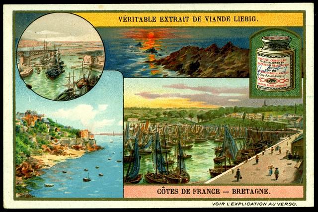 Liebig S953 The French Coastline ~ Brittany