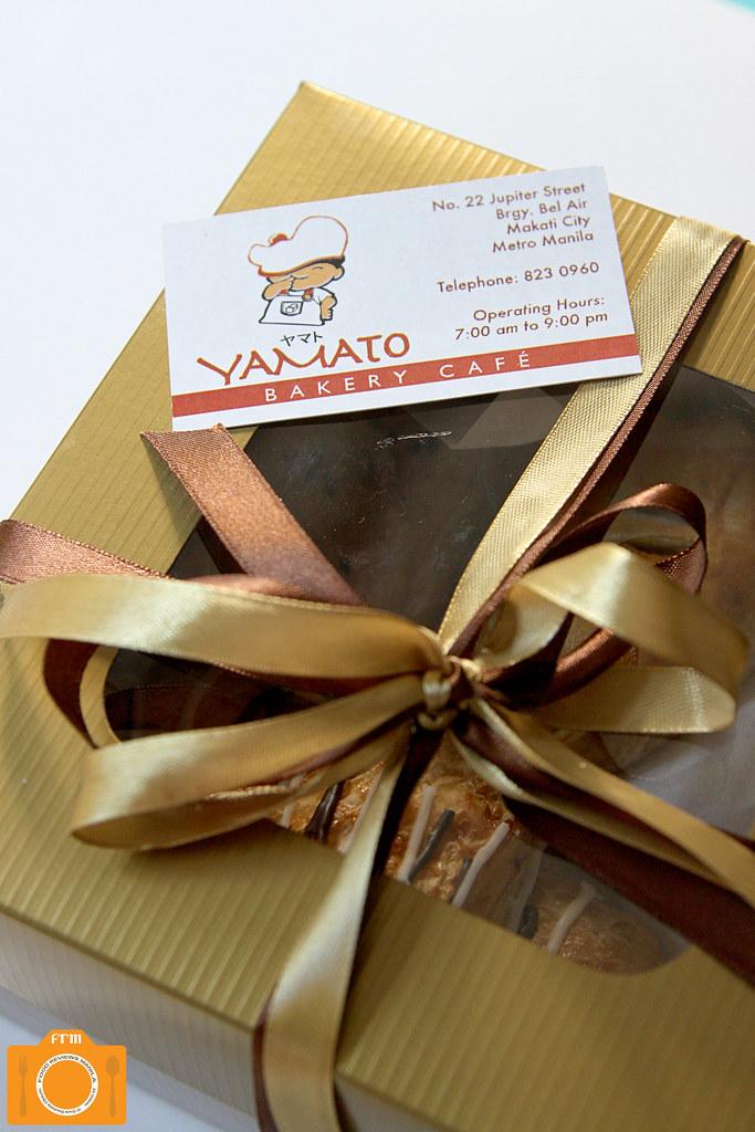 Yamato box of breads