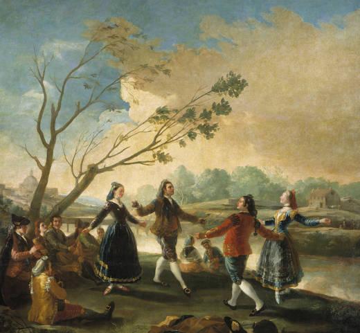 El Baile de San Antonio de la Florida. Obra de Francisco de Goya (1746-1828)