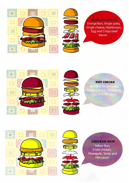 smashies burger menu - lord of the mess