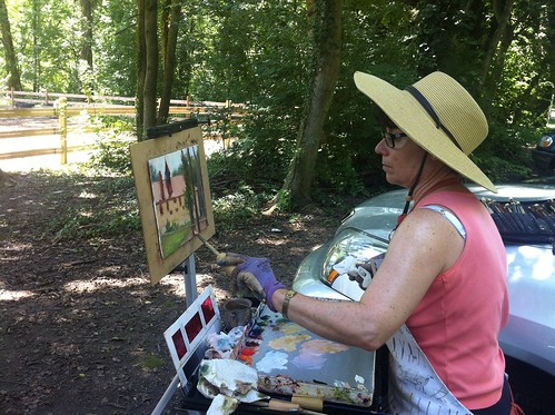 Woodmere Art Museum Plein Air painters