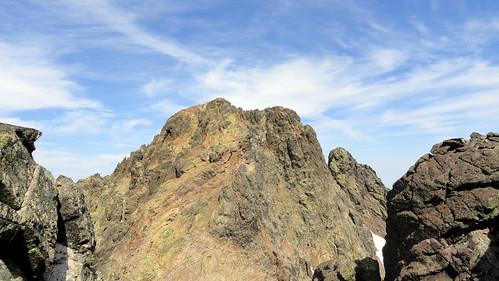 Punta Minuta depuis vers le Capu Rossu (photo Victor Gomis)