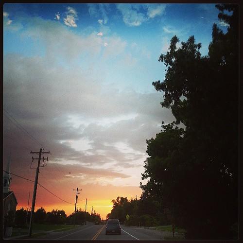 Magna Sunset