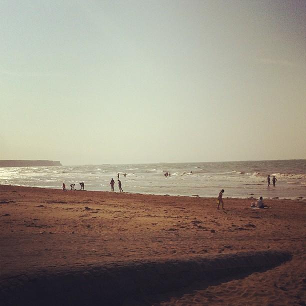 Fresh sea air. #normandy