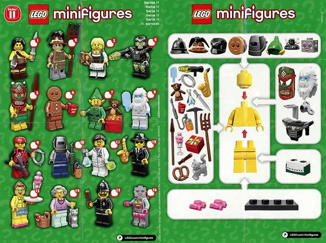 LEGO Minfig Serie 11