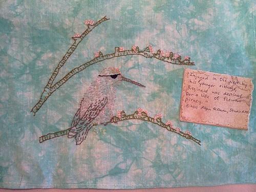 Feeling Stitchy Midsummer Stitchalong - Reginald the flower pirate